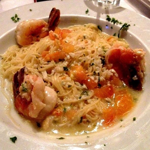 Shrimp Scampi Pasta - Oyster Bay Seafood and Wine Bar, Las Vegas, NV
