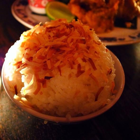 Coconut Rice - Fatty Crab, New York, NY