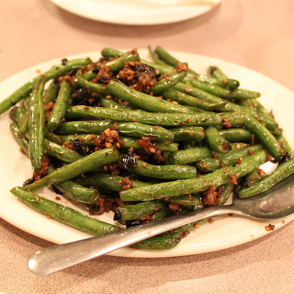 Pan Fried Spring Beans