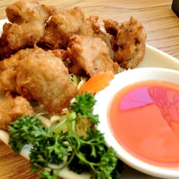 Fragrant Crispy Chicken (Veggie) @ Enjoy Vegetarian Restaurant