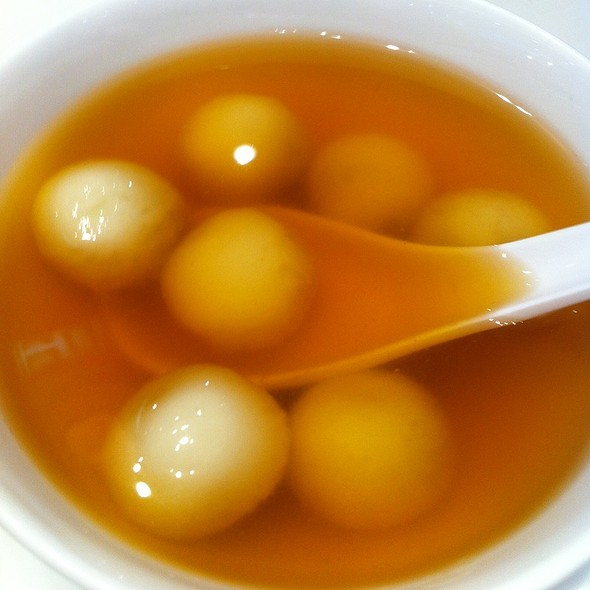 Peanut Tong Yuen In Ginger Soup @ Golden Sweet Dessert