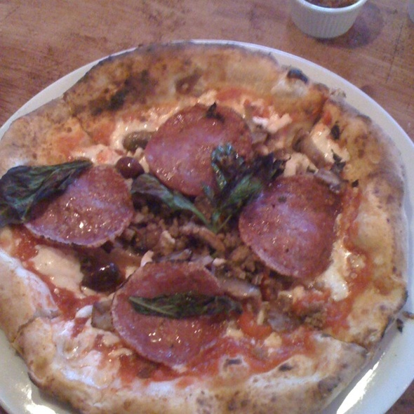 Forte Pizza @ Stuzzi Restaurant