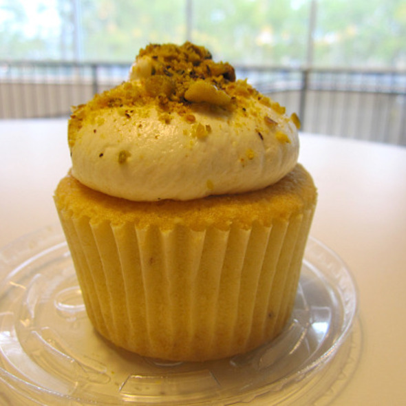 Pistachio Cupcake @ Baked
