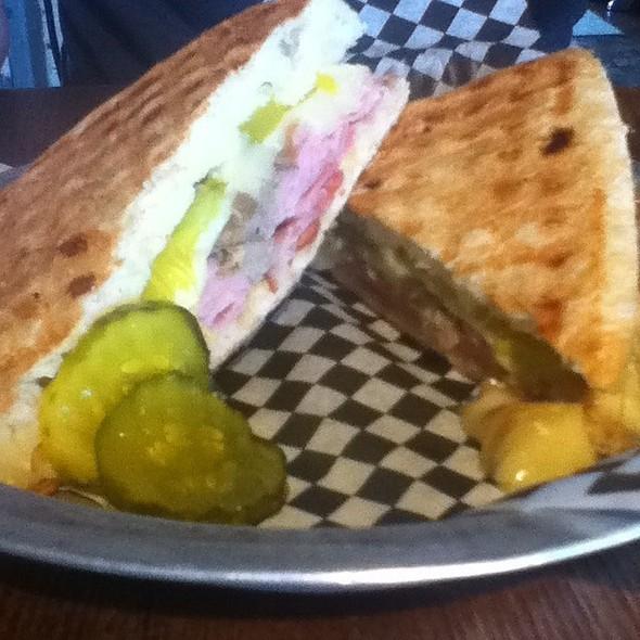 Cuban Sandwich @ Pumpkin Hill  Bistro