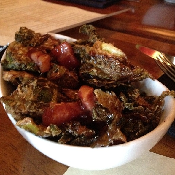 Brussel Sprouts With Bacon And Black Pepper Jam @ Root 174
