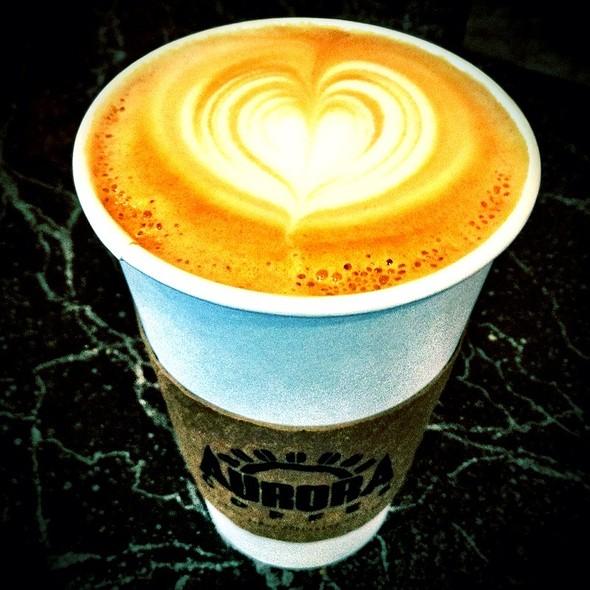 Latte @ Aurora Coffee