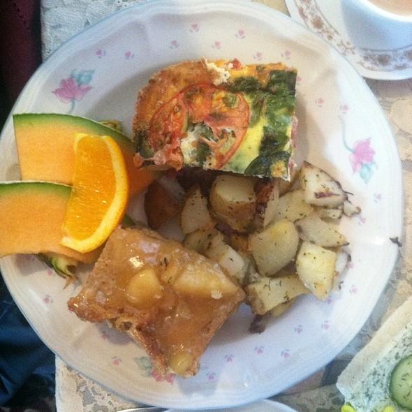brunch cafe special @ La-Da-Ta Tea House