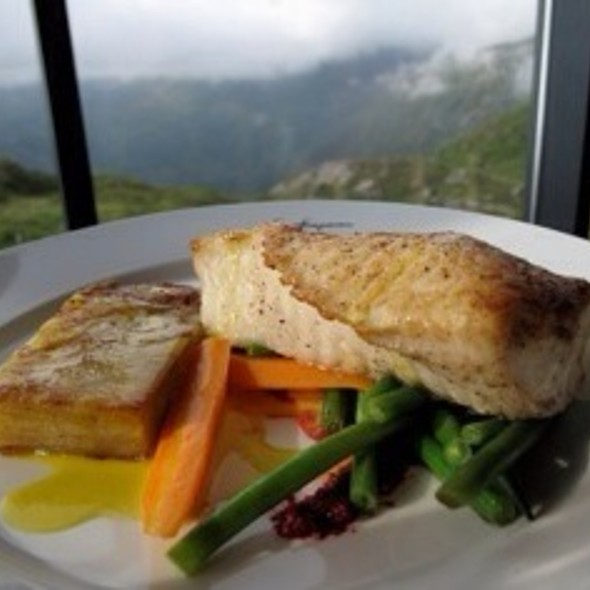 Norwegian Halibut With Potato Gratin @ Stalheim Hotel
