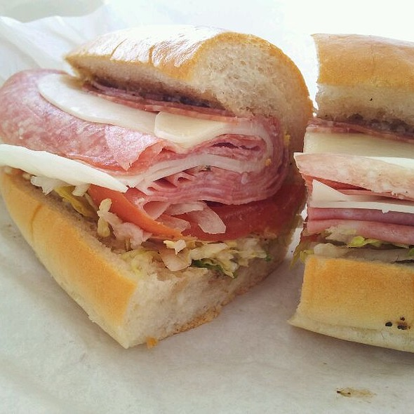 Cold Cut on Soft Roll