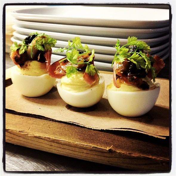 Deviled Eggs - OAKLEYS bistro, Indianapolis, IN