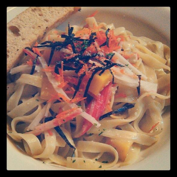 Japanese Wasabi Fettuccine Alfredo @ The Old Spaghetti House (TOSH), SM Marikina