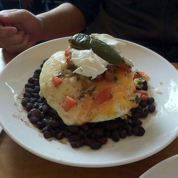 Aztec Huevos Rancheros @ Cafe M
