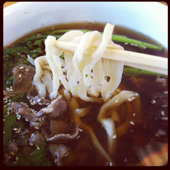 Lamb Noodle Soup @ Beijing Pie House