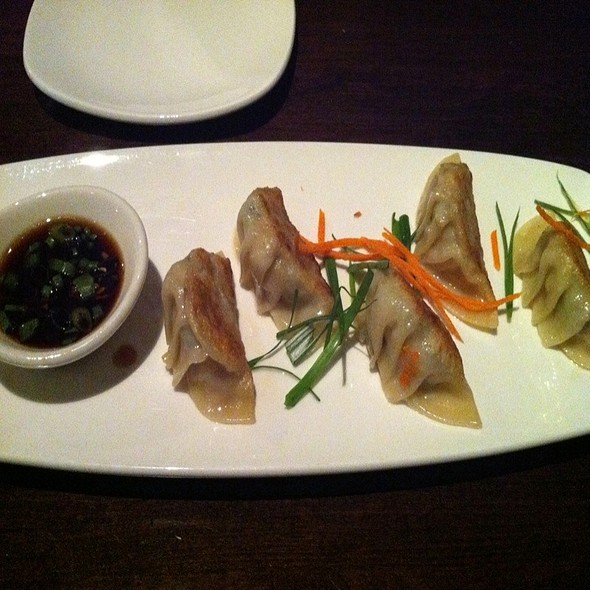 Fried Potstickers @ Wok N Fire