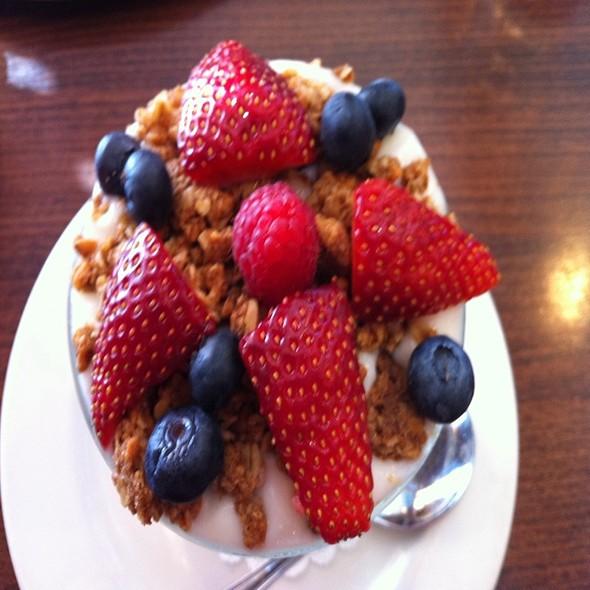 Yogurt with Fruit @ Brunch Cafe