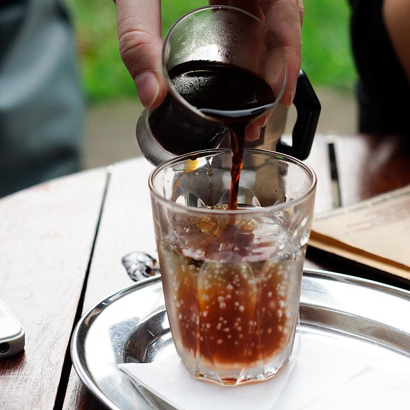 Sparkling Cold Drip @ Bean Drinking