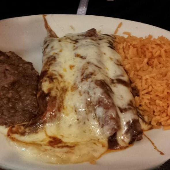 Mole Enchilada @ Nuevo Leon Restaurant