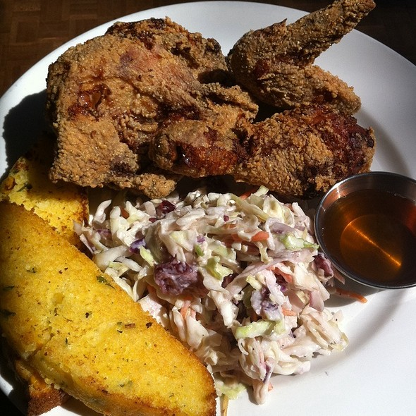 buttermilk fried chicken @ Jam Cafe