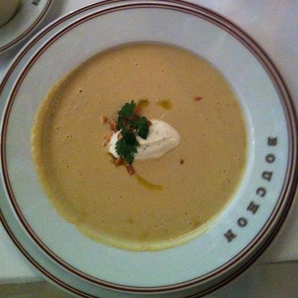 Celery Root Soup @ Bouchon