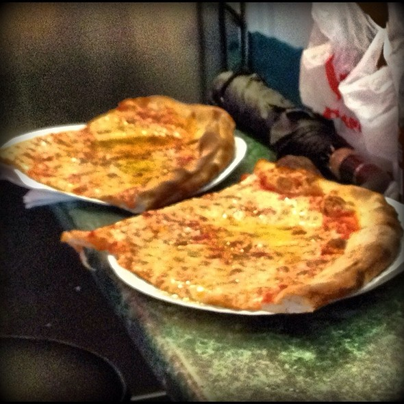 Cheese Slices With Olive Oil @ Famous Joe's Pizza