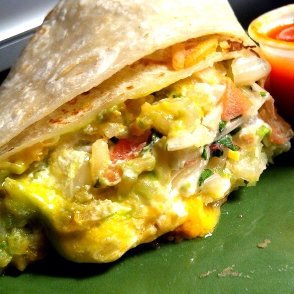 Veggie Burrito @ Filiberto's