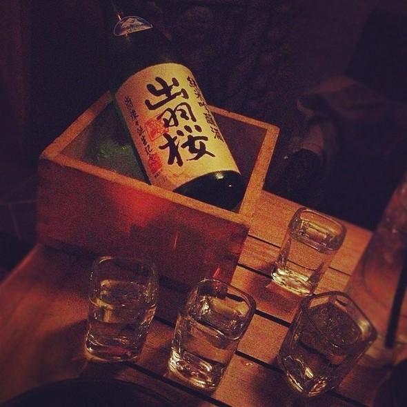 Sake - Katana, West Hollywood, CA