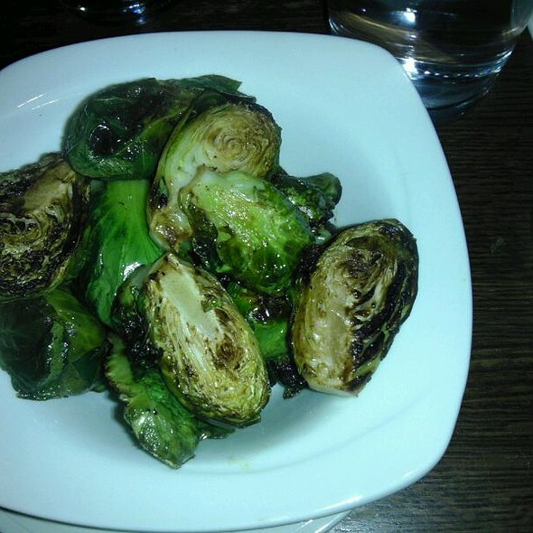 Roasted brussels sprouts - Temple Bar, Cambridge, MA