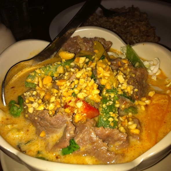 Beef Penang Curry @ Orchid Thai Cuisine