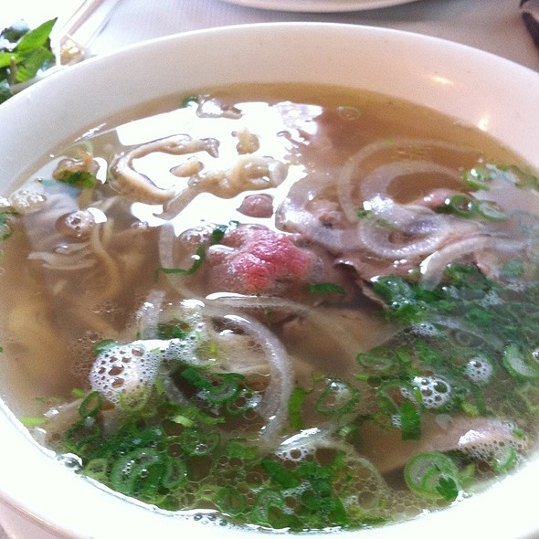 Beef Pho Tirp Tend  @ Song Que Cafe Ltd