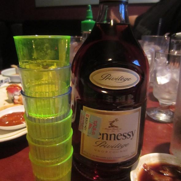 Hennessey VSOP @ Genji Japanese Restaurant & Karaoke Bar (Wilcrest)