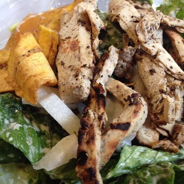 Jerk Caesar Salad @ HipCityVeg