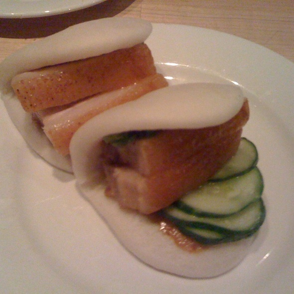 Steamed Buns with pork @ Momofuku Noodle Bar