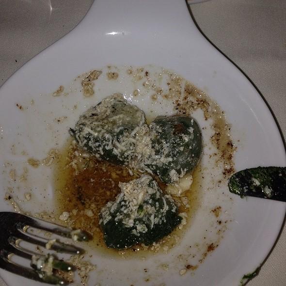 Spinach Gnocchi With Brown Butter @ Vetri Ristorante