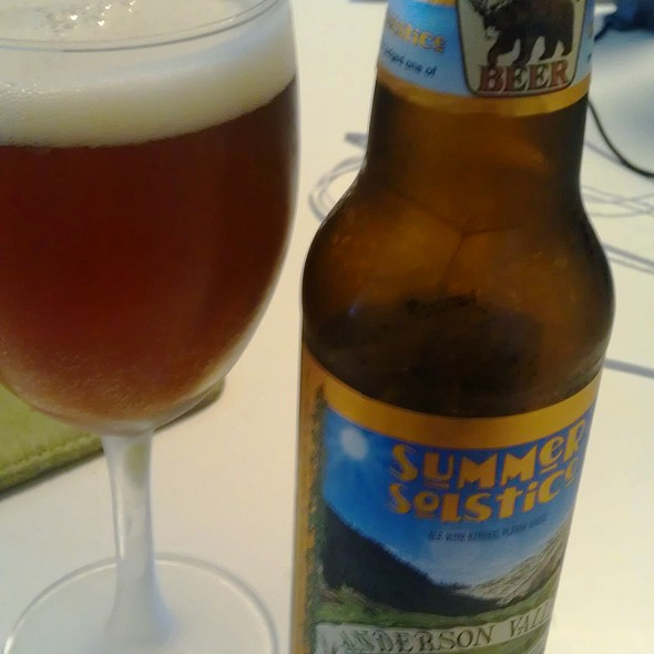 Summer Solstice Beer @ My Place