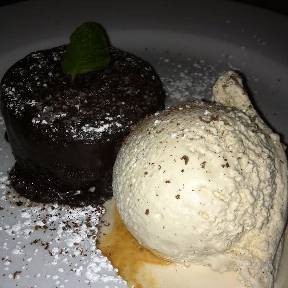 Molten Chocolate Cake - Grotto, Boston, MA