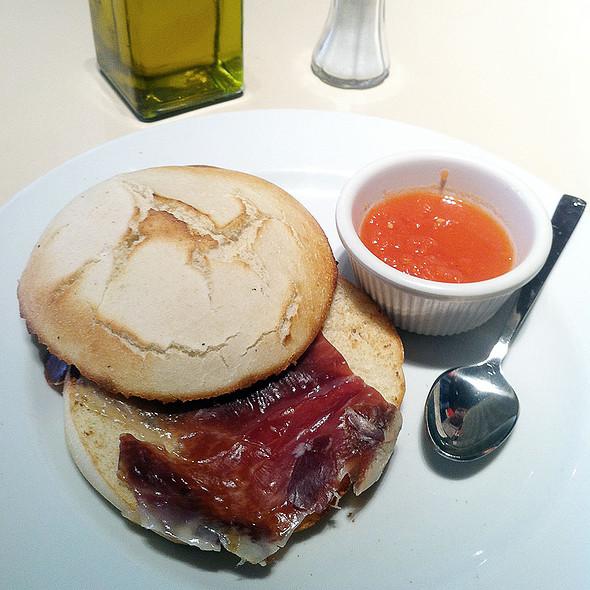 Serrano Ham Tomato Toast @ Vips