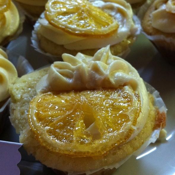 Aunt Linda's Lemon Cupcakes @ Grampa's 80Th B-Day Extravaganza.