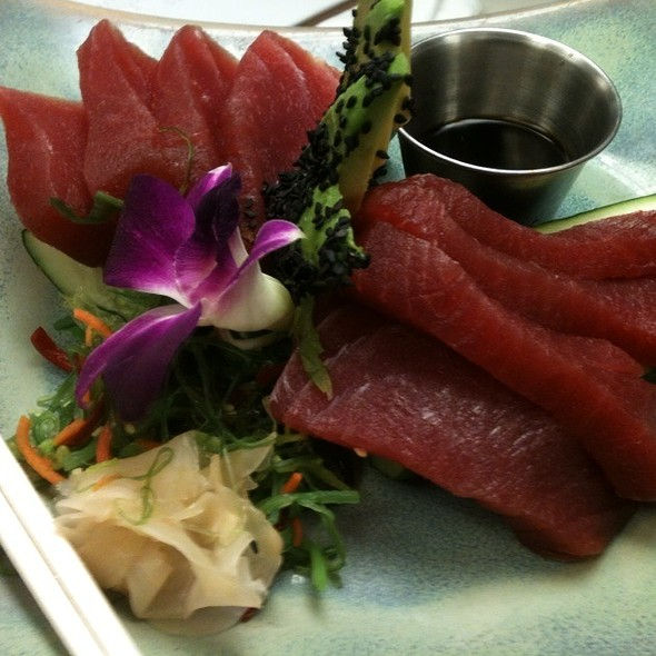 Big Eye Tuna Sashimi @ The Oceanaire Seafood Room