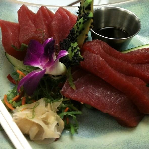 Big Eye Tuna Sashimi @ The Oceanaire Seafood Room