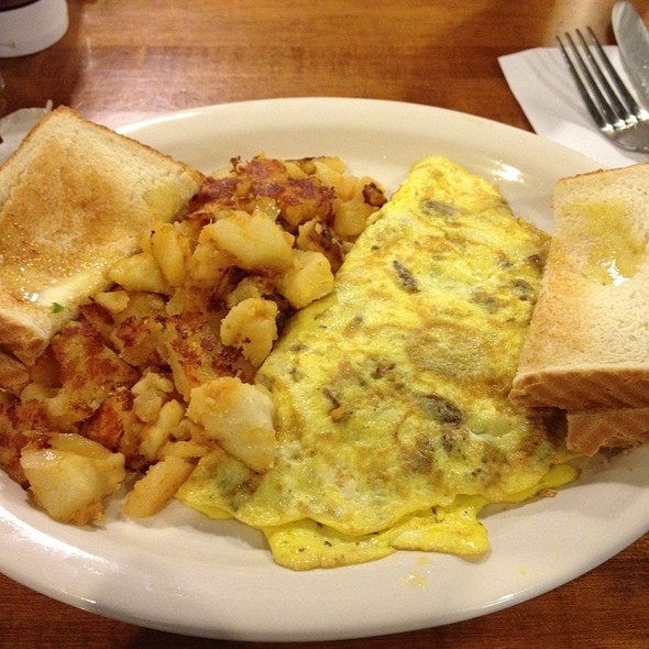 Mushroom Omelet @ A-1 Pizza On Broadway