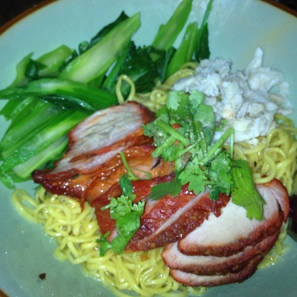 Ratchaburi Crab & Pork Dry Noodle @ Pure Thai Cookhouse