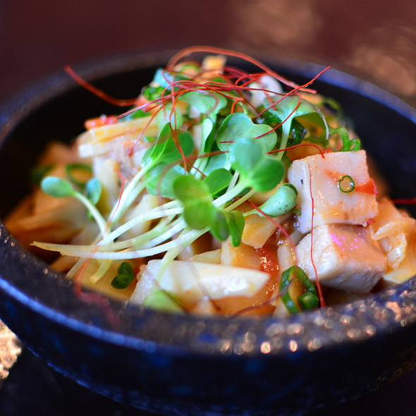Spicy Bamboo Shoots @ Kiraku