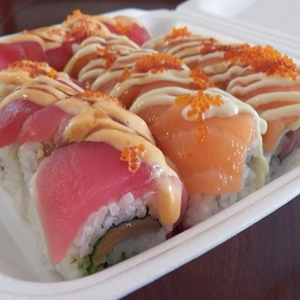 Rainbow Roll @ Lawrence Plaza Food Court