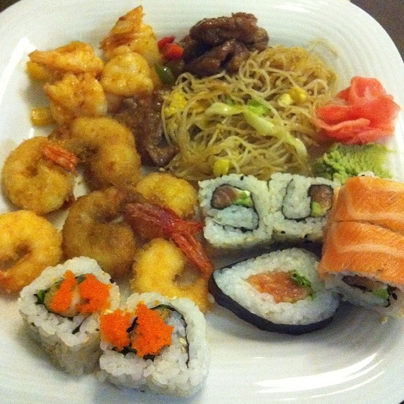 Sushi Buffet @ Wok Ninja
