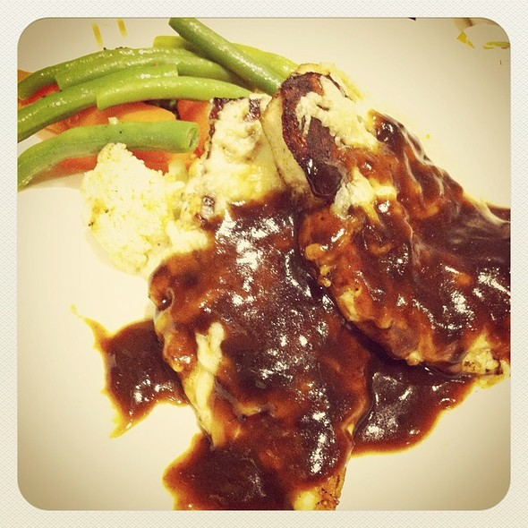 Grilled Chicken With Bbq Beef @ Hediard