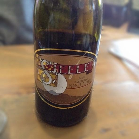 2008 Steele Pinot Noir - 1808 Grille, Nashville, TN