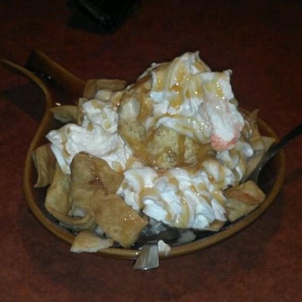 Fried Ice Cream with Caramel