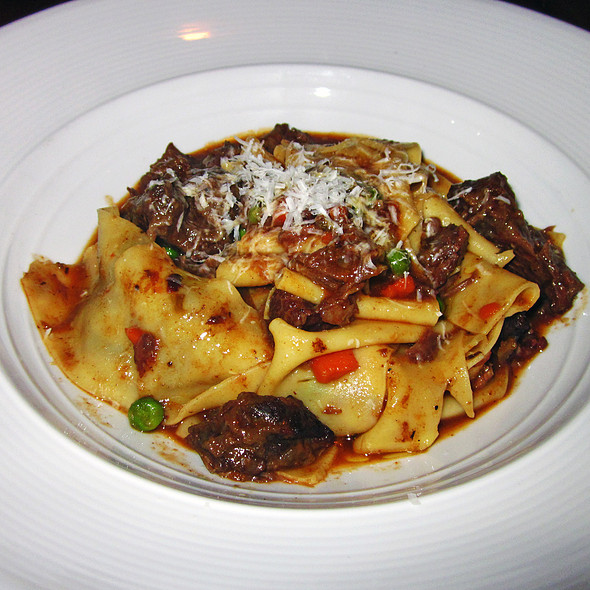 Homemade Pappardelle with Braised Beef Cheek Ragu @ 34 Degrees South