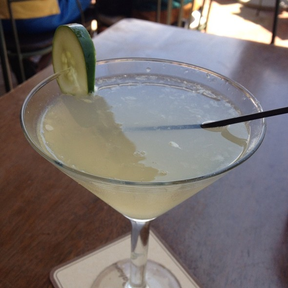 Cucumber Ginger Jasmine-Tini - Tommy Bahama Restaurant & Bar - Mauna Lani, Big Island, Kamuela, HI