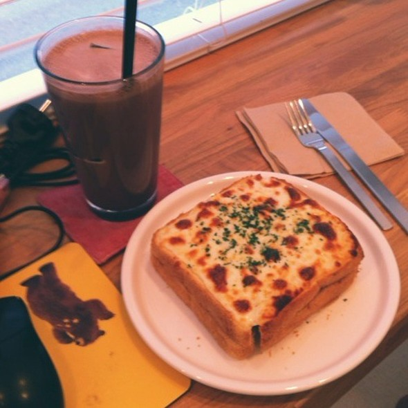 croque monsieur @ 일상다반사